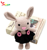 Hot sale DIY hand knitting crafts beautiful cute rabbit toy education toy for adults
