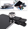 Hot new style! 3 In 1 colorful wide and macro fish eye lens for iphone and smart phone