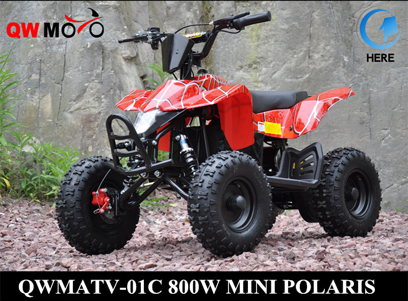QWMOTO CE GREEN WIRE CHEAP 2 STROKE 49CC MINI ATV 50CC MINI QUAD BIKE 49CC MINI QUAD ATV FOR KIDS(QWMATV-01F)