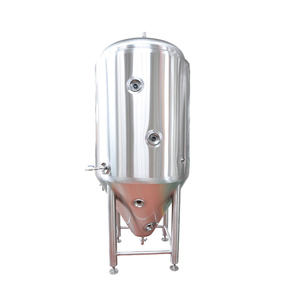 beer wine stainless steel yogurt for sale vinegar acetator food grade red copper 600l conical fermentation tank