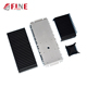 oem extruded aluminum heatsink case part in china