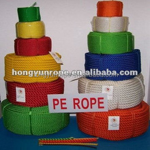 3 strands PE Rope 3mm 4mm 6mm 8mm 10mm--30mm