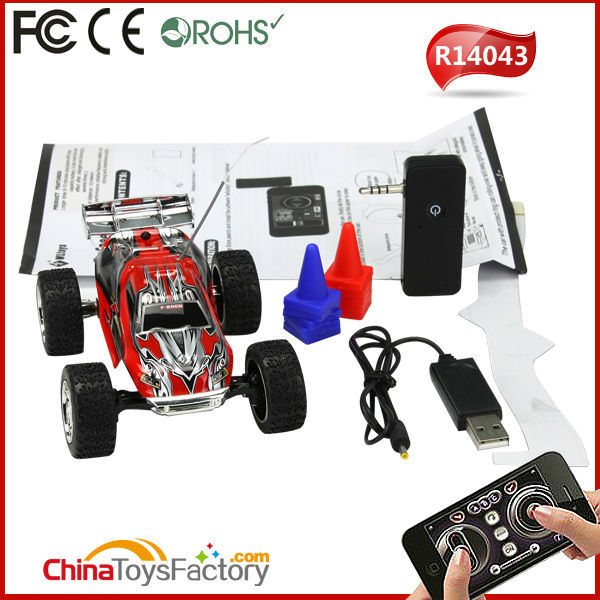 R14043 L949 iPhone/iPad Controlled 5CH RC Speed Truggy Wireless Remote Toy Car