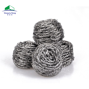 useful metal sponge scourer with different packaging for dishes