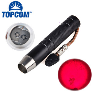 Night Vision Infrared Flashlight High Power Hunting 660nm Red Light + 850nm IR LED Aluminum Alloy Flashlight Professional