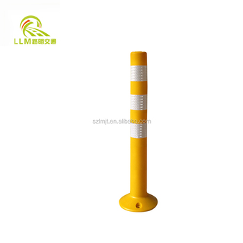 Road safety products factory whole sale high quality PU flexible delineator post