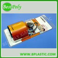 New plastic product sliding card blister packaging