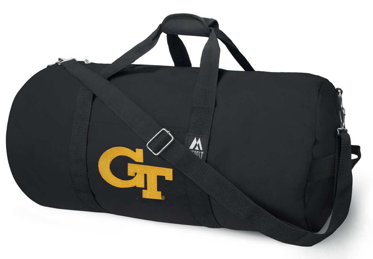 OFFICIAL GT Yellow Jackets Duffle Bag or Georgia Tech Gym Bags Suitcases