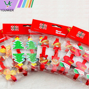 christmas ornament clips children's memo clips to clip the photo household daily Christmas festival gifts
