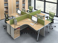 Price Of Thin Client Modern Furniture MDF workstation