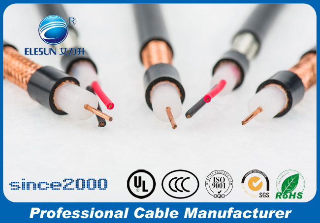 RS485 1*2*22AWG PE insulted coaxial cable