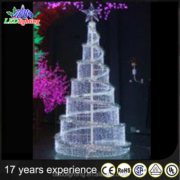 5m Giant Christmas Tree Led Outdoor Lighted Christmas Tree With ...