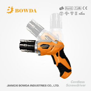 3.6V Cordless Electric Rechargeable Screwdriver with LED Light