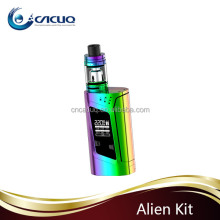 New Colors smok 220w alien kit with tfv8 baby tank free vape mods