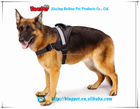 reflect light dog harness soft for big dog clothes M size