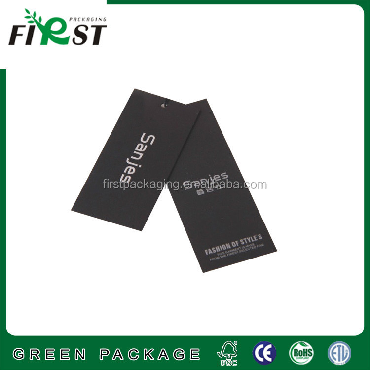 Wholesale Custom Garment Tags,Paper Swing Tags,Clothing hang tags and labels