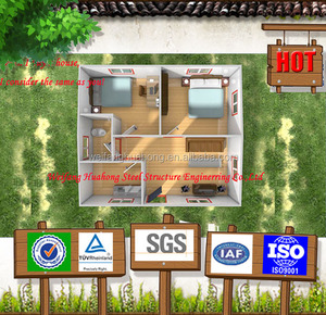 Economical Fast installation prefabricated ecological house