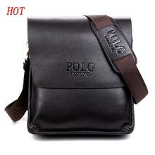 Pánska kožená taška cez rameno POLO