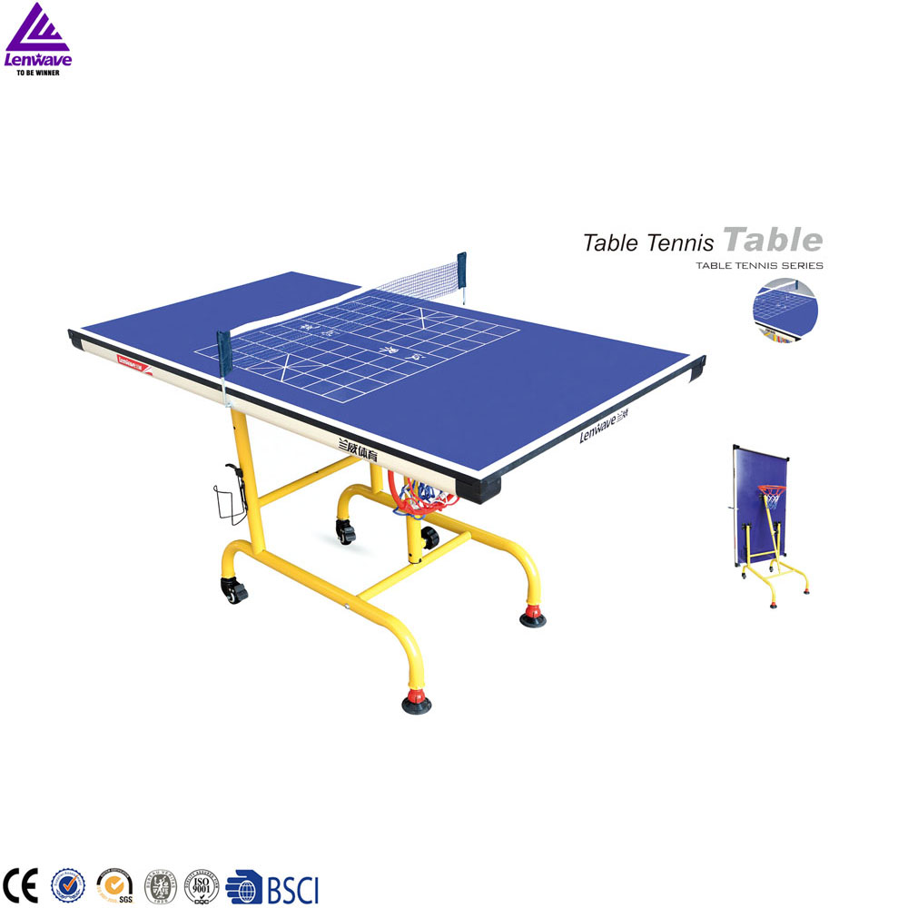 2016 Lenwave hot selling aanpasbare mini kids tafeltennis tafel