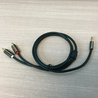 RCA audio snake cable One 3.5mm waterproof headphone jack Connector RCA extension cable from Manufacture