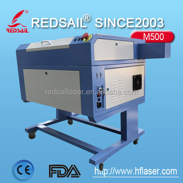 Redsail M500 laser engraving machine / beautiful design / easy to operate.