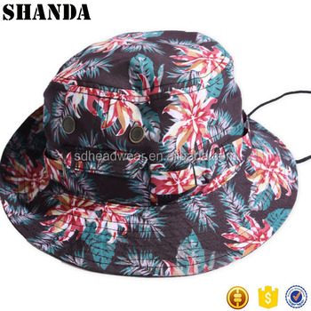 Women ladies bucket hat with string  6081d78137