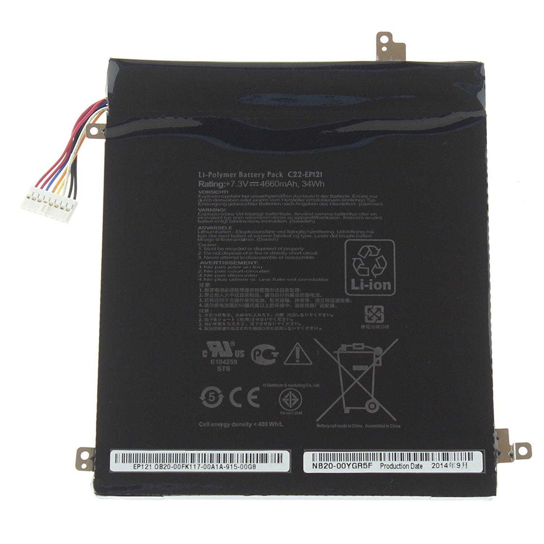 Nb-battery 7.3v 4660mah for Asus C22-ep121 Eee Slate Pad Ep121 B121-1a008f B121-1a031f