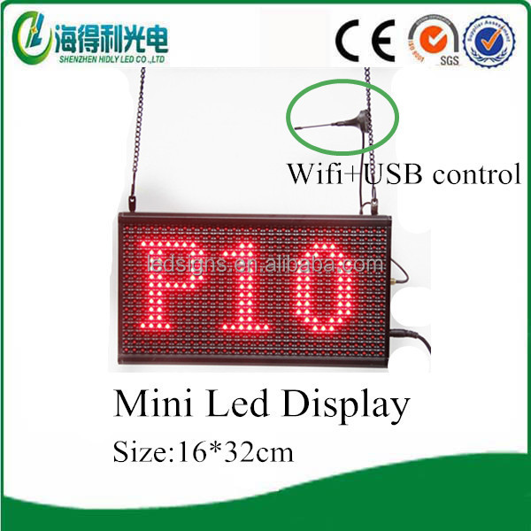 Alibaba <strong>express</strong> in electronics Portable P10 mini led board