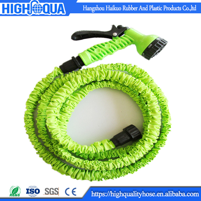 Expandable No Kink Garden Hose Pipe Best Magic Stretch Wonder Hose, Expands to Approximately 50 feet
