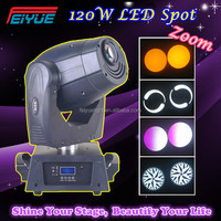 Cheap Disco Light 120W LED Spot Moving Head Club DJ Stage Light