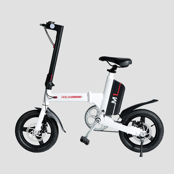 Chinese Most Popular Cheap Aluminum Frame 16inch 36V 350W Folding Removable and Rechargeable Battery Ivelo Electric Bike