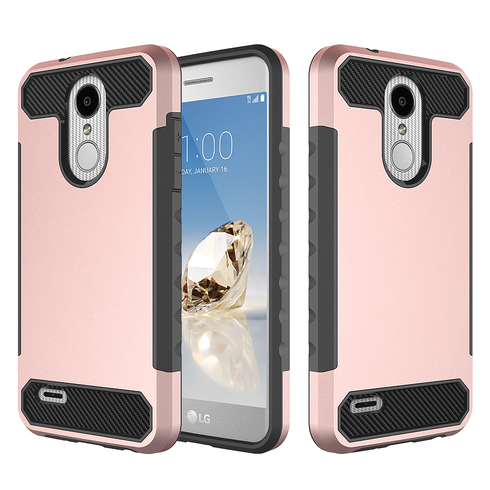 2 In 1 Case For Lg K8 Suppliers And 2in1 Brushed Hybrid Armor Soft Hardcase Manufacturers At