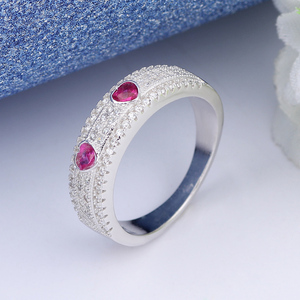 from china 925 sterling silver genuine indian ruby red coral ring designs