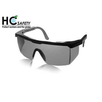 1d3b827558 P650-a Ce En166 Ansi Z87.1 Dark Lens Side Shield Brow Bar Safety Glasses - Buy  Safety Glasses
