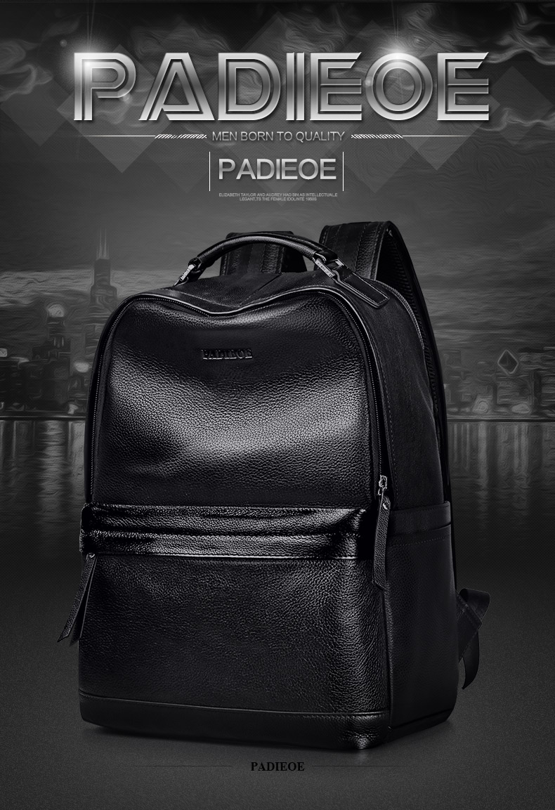 e54cbe35ec Wholesale Padieoe New Designer Korean Style Male Backpack Luxury ...