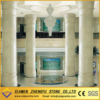 Outdoor decorative white stone columns buy outdoor for Where to buy columns for house