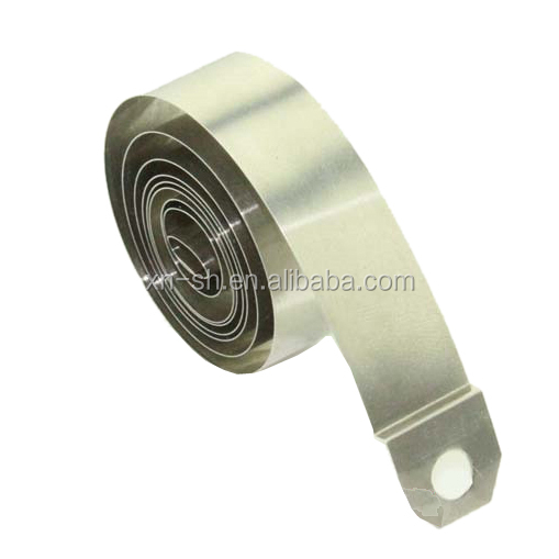 0.1mm 12.7mm 710mm supermarket shelf pusher variable force <strong>spring</strong>