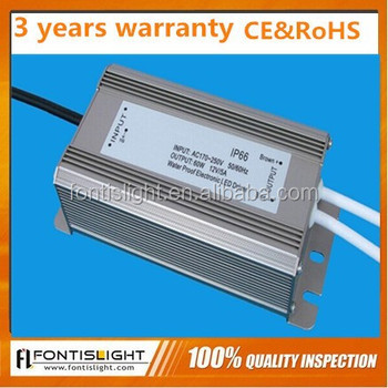 12v 60w Led Driver For0.83-16.7 A High Power 60w-200 Led Chip ...
