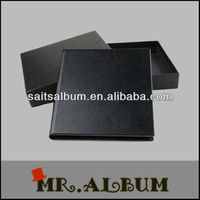 Elegant PU faux leather DVD storage CD case made in China wholesale online