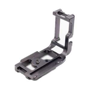 Aluminium Camera L Shaped Slider Plate L-shaped Bracket Vertical Shoot Quick Release Tripod Plate for Canon ES 5d Mrk III 5d3