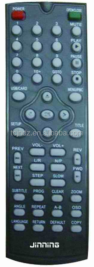 high quality learning remote control oem CANCA DVD,TV,VIDEO