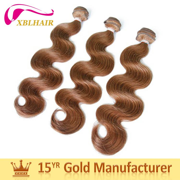 Gold supplier XBL full cuticles intact and aligned silver human hair extensions