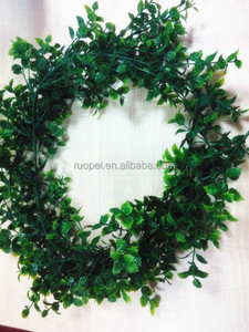 2014 hot artificial green ivy vine decorative leave vines hanging for wall