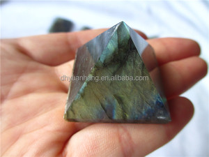 Amazing natural labradorite stone pyramid,crystal stone pyramid,gemstone pyramid