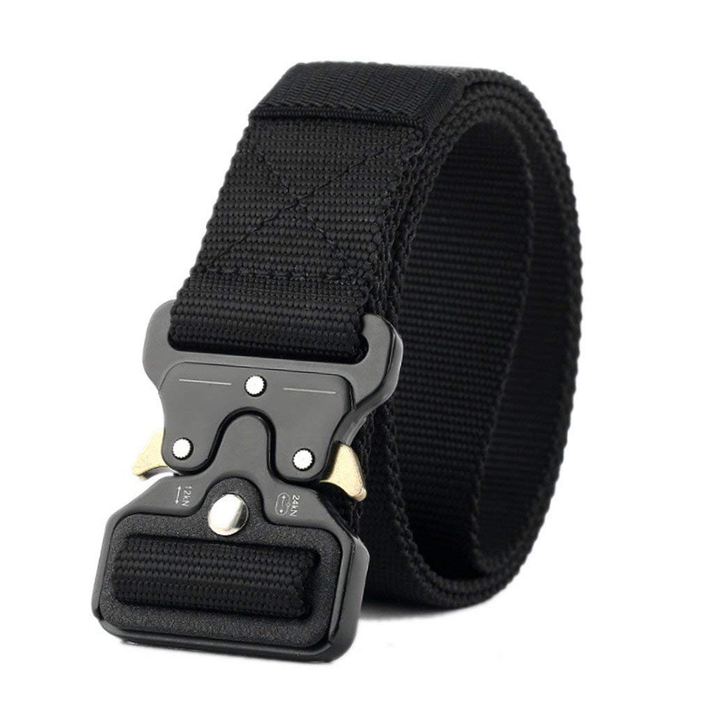 FCNHXJ Tactical Belt Mens Army Military Training Belt Men Outdoor Multifunctional Camouflage Combat Hunting Belts