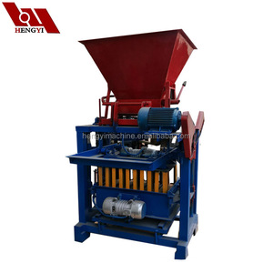 Construction building raw material qt4-35 block making machine with low price