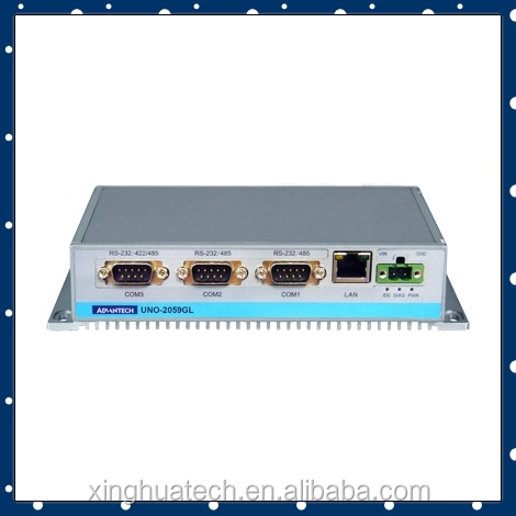 Advantech Embedded Fanless mini pc UNO-2059GL-G30E industrial fanless pc