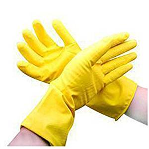 3 Pairs/lot Natural Latex Gloves Washing Gloves Wash Dishes In Kitchen Clothes Washing Household Gloves Durable