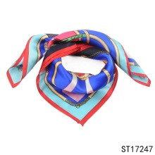 TOROS Soft Weight Women Printed Wholesale Turkey Custom Twill Silk Scarf