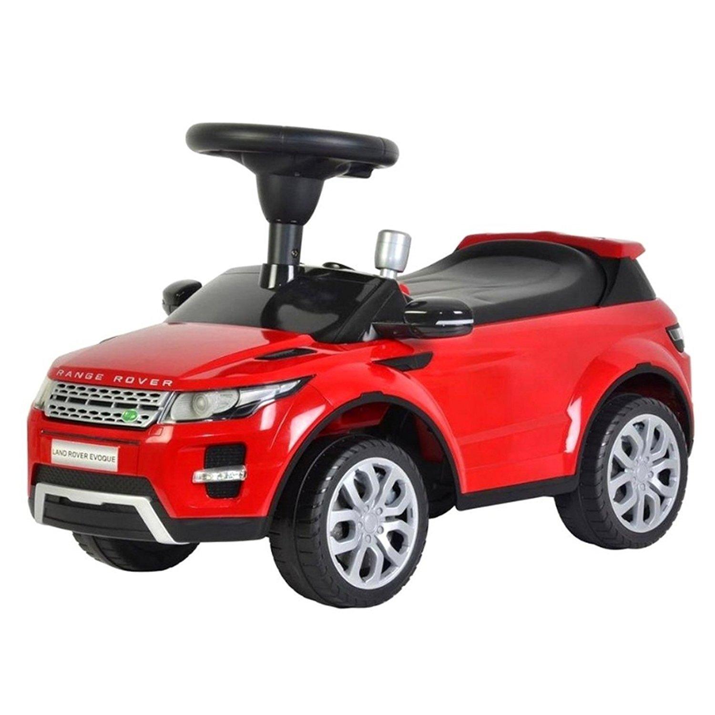 Licensed Range Rover Kids Ride On Push Car - Red